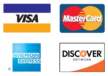 JNL DJ Service, now accepts Visa, MasterCard, Discover, American Express (AMEX), and Paypal